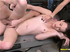 Kaci Lynn paid so suck his rock hard schlong and get plowed out back