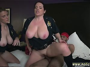 immense melon milf gang Noise Complaints make messy mega-bitch cops like me moist for gigantic