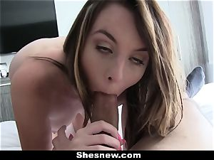 ShesNew - Khloe Krush smashes For Cash!