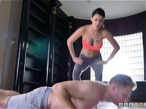 supple dark-haired Peta Jensen