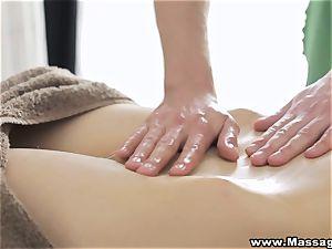 massage X - buttfuck on massage table