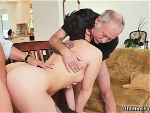 mischievous senior wifey and german bang-out More 200 years of spunk-pump for this uber-sexy black-haired!
