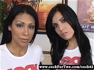Latina Cassandra Cruz Vs mexican honey Lorena Sanchez