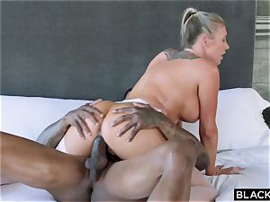interracial porn with additional class adult movie star and dark-hued guy Jason Luv