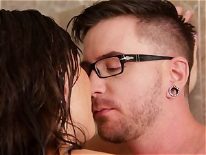 destiny Dixon super-fucking-hot and moist ravaging in the bathroom