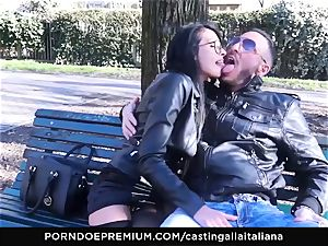 audition ALLA ITALIANA - super-naughty hump with local first-timer