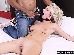 cute Molly Mae gets tied to the bed and ravaged really rigid