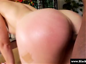Ginger stunner Jodi Taylor torn up from behind