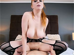 lil' crimson head Penny Pax gets what she wants
