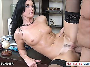 supreme brown-haired India Summer fuckin'