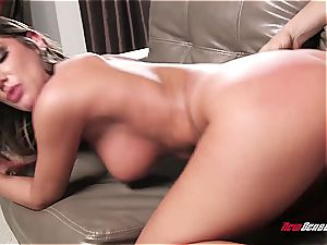 nanny August Ames offers some pressure let out