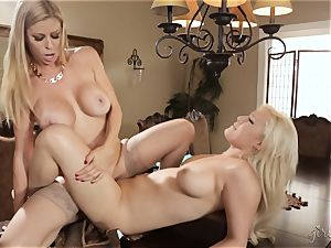 girl/girl party with Alexis Fawx and Kylie Page