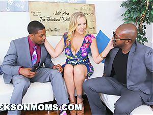 BLACKSONMOMS - Julia Ann Wins three ample rewards (xa15147)