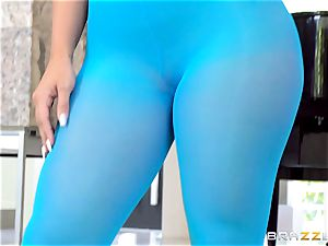 supple honey Kelsi Monroe is ripped out of her killer nylons
