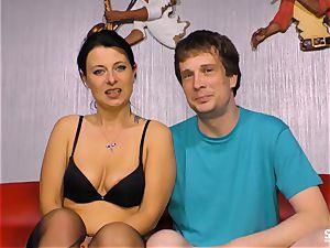 SEXTAPE GERMANY - first-timer German couple boink on webcam