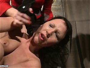 Katy Borman love forcing a super-fucking-hot babe to deep-throat the fuck stick