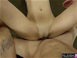 pulverized big-boobed girlfriend Olivia Nova For exercise S1:E4