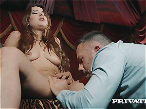 Private.com - Taylor Sands grins For cum shots