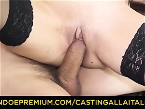 casting ALLA ITALIANA - filthy new-comer anal audition