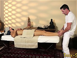 rubbed cougar soles humped