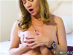 EuropeMaturE jaw-dropping Mature Solos warm Compilation
