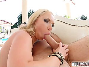 Shooting 2 loads out of her ass