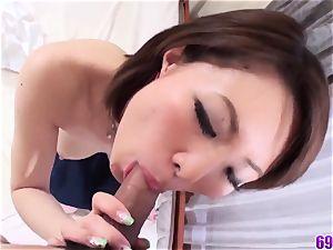 gigantic titties Miki Uemura amazing fuck-fest in romantic sequences