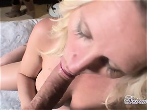 Devon Lee is luving her man's lash wedged in her juicy throat
