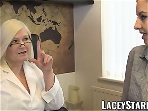 LACEYSTARR - GILF heals patient with sapphic climax