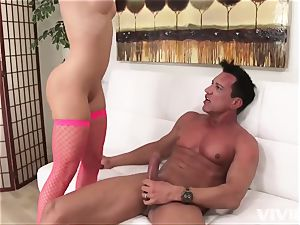 hefty caboose latina flashes off her body and romps her guy