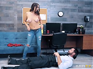 Ashley Adams takes on cop fuck-stick