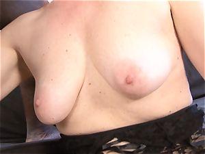 Mature girl interracial hard-core puss drilled gulps