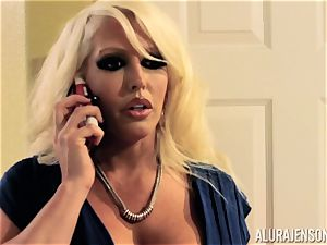 Alura Jenson gets a bit super-naughty and commences to slap