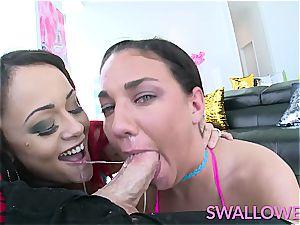 drank dual facehole shag with Amara and Holly