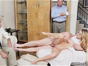 father care and breakfast hand job older stud Molly Earns Her Keep