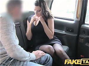 faux taxi super hot huge-boobed honey gets fat jizz shot
