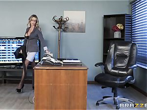 Karma Rx takes cootchie romped in the office
