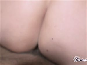Devon Lee gets herself fucked just the way she enjoys before getting gooed