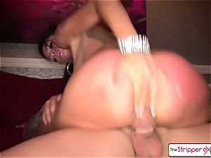 uber-sexy Raven Bay unwrap down and get pummeled by a enormous knob