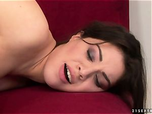 Tiffany gal kissing super-fucking-hot with mature dame