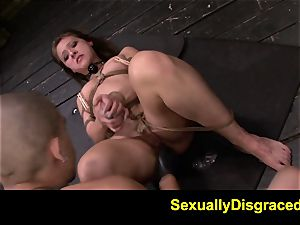 FetishNetwork Callie Calypso gives deep-throat fellatio