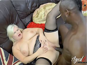AgedLovE Lacey Starr interracial hardcore buttfuck