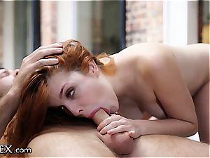 Amarna Miller's sensual caress
