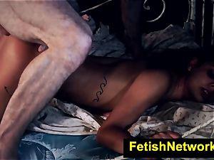 HostelXXX Gina Valentina bondage & discipline room penetrate