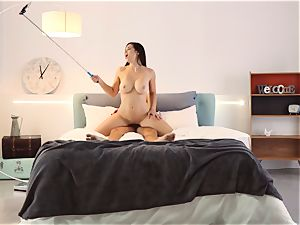 LOS CONSOLADORES - steamy gang romp with Spanish Nekane