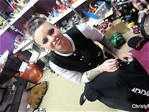 Behind the vignettes with adult movie star Christy Mack