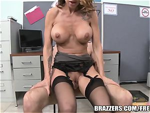 Office humiliation teaching turns funbag humping & oral job ses