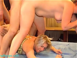 two german femmes in a super-naughty fuck-fest fuck-a-thon