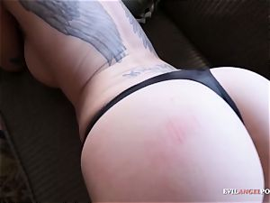 Raven Bay fumbling Her donk Over guys beef whistle