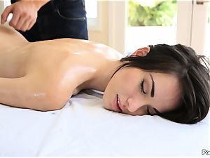 Emily Grey kneaded into submission